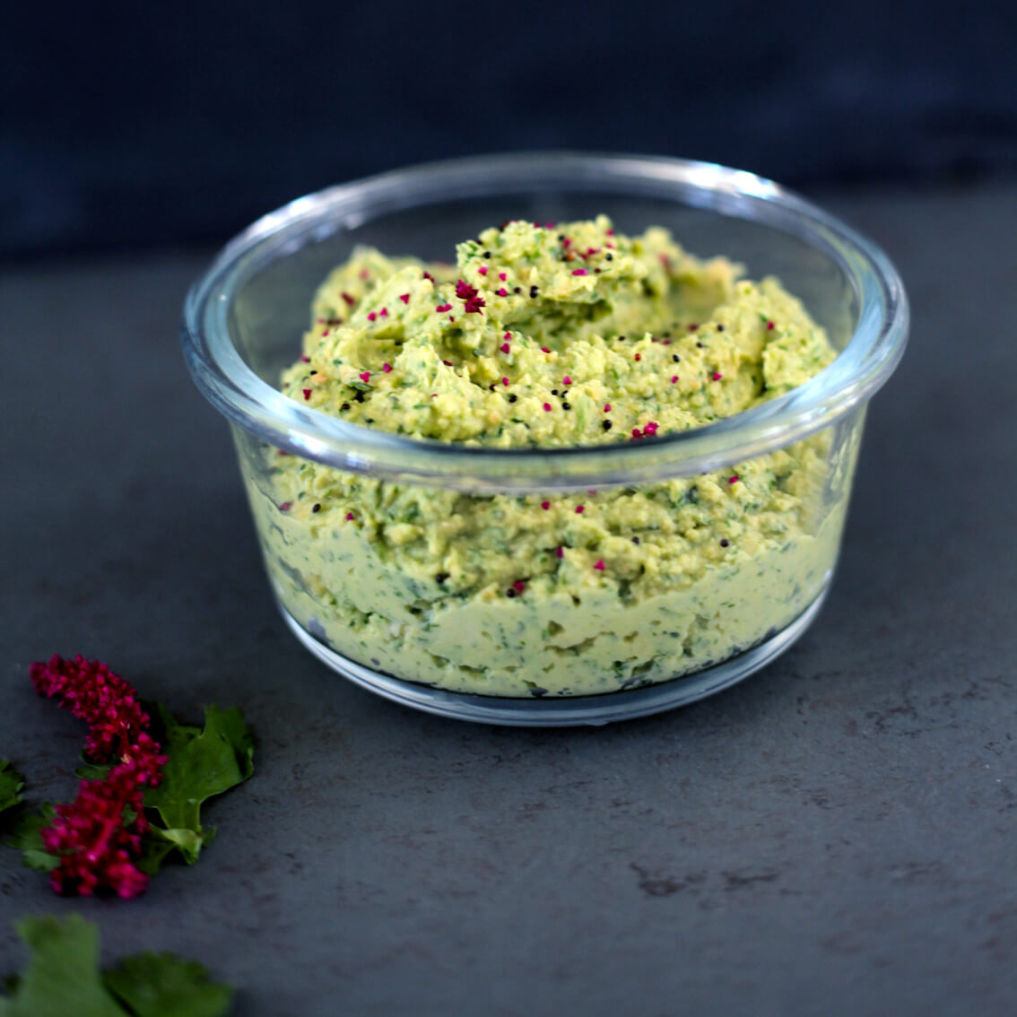 Green Cilantro Hummus