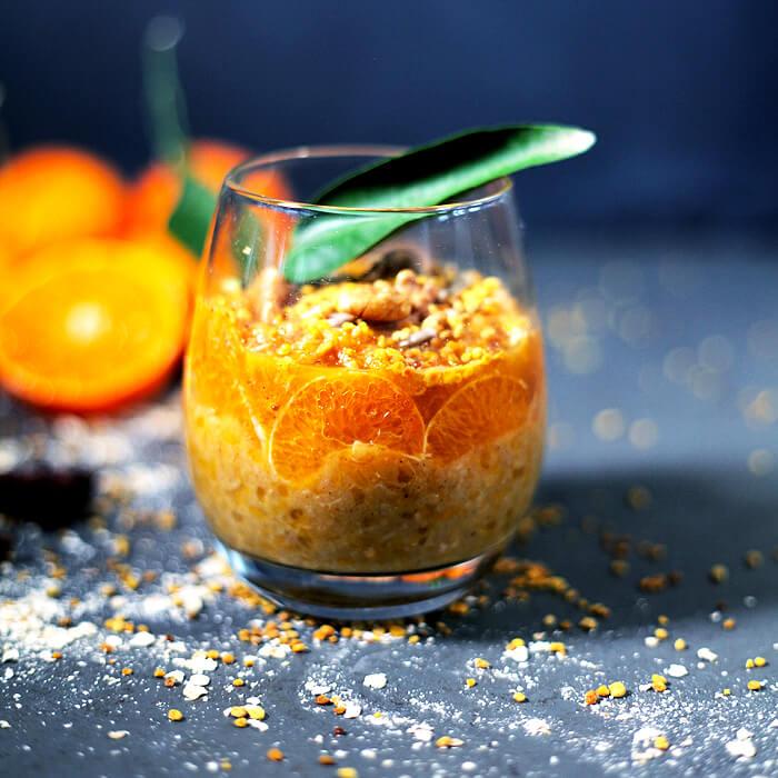 Tangerine Oats Happy Earth Kitchen